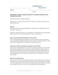 Download hele artiklen som pdf - Kromann Reumert