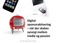 Digital sponsoraktivering - Kromann Reumert