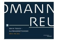 den ny telelov – slutbrugerrettigheder - Kromann Reumert