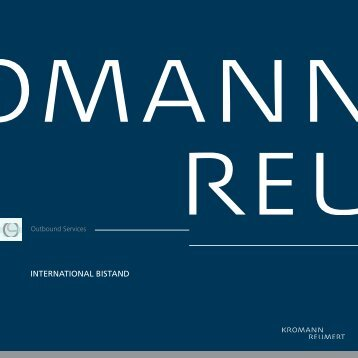 INTERNATIONAL BISTAND - Kromann Reumert