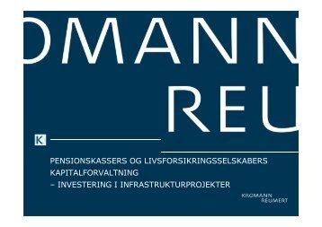 investering i infrastrukturprojekter - Kromann Reumert