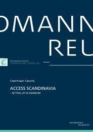 SEttINg up IN DENmArk - Kromann Reumert