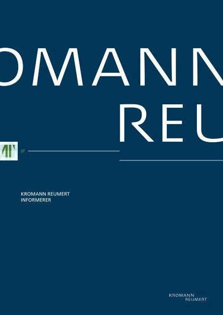 Ny banebrydende højesteretsdom på patentområdet - Kromann ...