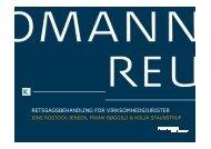 retssagsbehandling for virksomhedsjurister - Kromann Reumert