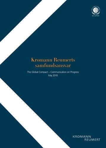 Kromann Reumerts samfundsansvar