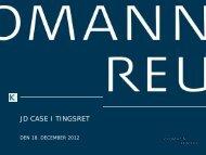 download præsentationen - Kromann Reumert