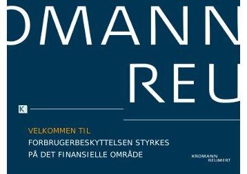 Stk. 1. - Kromann Reumert