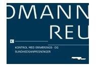 kontrol med ernærings- og sundhedsanprisninger - Kromann Reumert