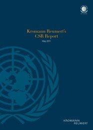 Report 2011 - Kromann Reumert