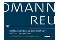 rettighedsmæssige udfordringer i den digitale verden - Kromann ...