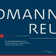 Kromann Reumert's expertise within litigation and arbitration