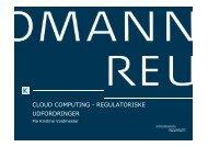 Kromann Reumerts samlet præsentation