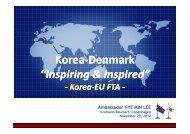 Korea-Denmark - Kromann Reumert