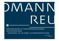 investering i og via fonds- og foreningsstrukturer - Kromann Reumert