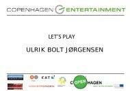 ULRIK BOLT JØRGENSEN LET'S PLAY - Kromann Reumert