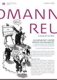 Nyhedsbrev 11/2009 - Kromann Reumert