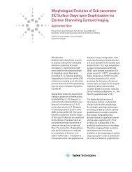 Morphological Evolution of Sub-nanometer SiC Surface Steps upon ...