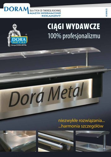 Doram newsletter no. 7 (1/2010) - download PDF - DORA METAL