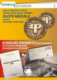 Doram newsletter no. 3 (2/2008) - download PDF - DORA METAL