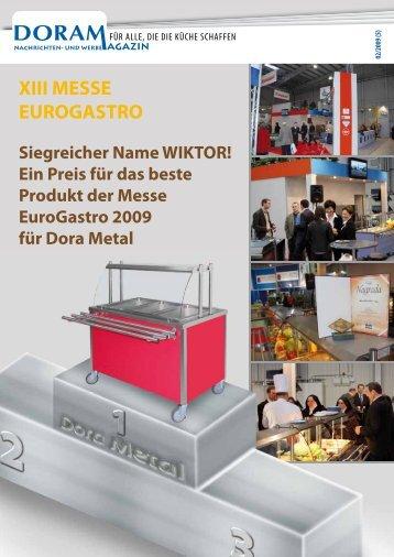 XIII MESSE EUROGASTRO Siegreicher Name WIKTOR! - Kromet