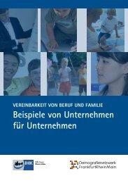 Beispiele von Unternehmen für Unternehmen - IHK Hanau ...