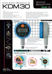 High accuracy, digital pressure gauge