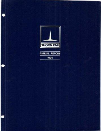 THORN EMI - David Kronemyer