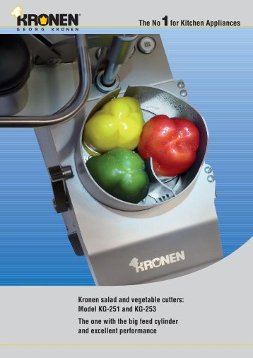 The No1for Kitchen Appliances Kronen salad and vegetable cutters