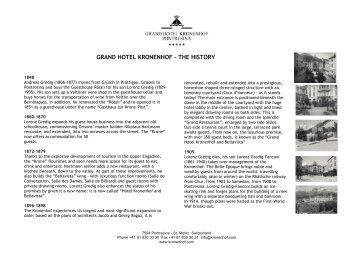 PDF 160 KB - Grand Hotel Kronenhof