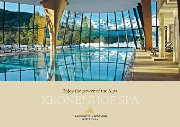 Spa Brochure - Grand Hotel Kronenhof