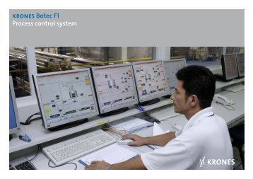 KRONES Botec F1 Process control system - Krones AG