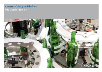 krones Cold-glue labellers The classic labellers - Krones AG