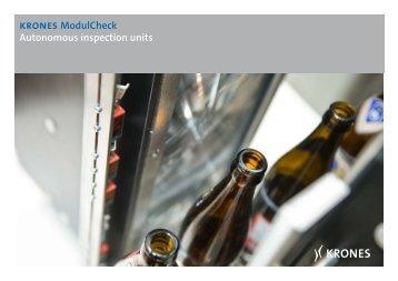 krones ModulCheck Autonomous inspection units - Krones AG