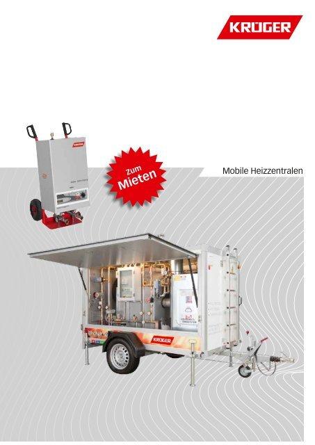Prospekt Mobile Heizzentrale Krã¼ger And Co