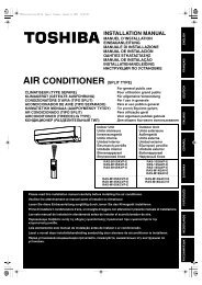 AIR CONDITIONER (SPLIT TYPE)