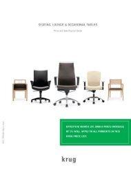 Seating and Table Price Guide US - Krug [PDF]