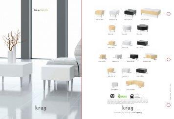 Zola Tables Brochure [PDF] - Krug