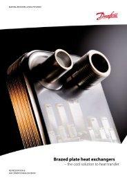 Brazed plate heat exchangers - Danfoss