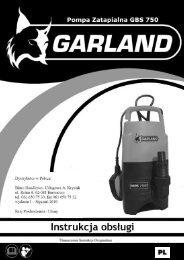 GARLAND GBS -750 - Krysiak