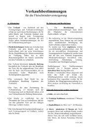 Verkaufsbestimmungen Fleischrinder PDF-Download