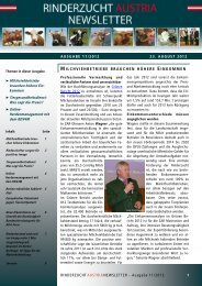 ZAR-Newsletter Ausgabe 11/2012 - ZuchtData EDV ...