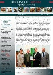 ZAR-Newsletter Ausgabe 10/2013 - Zentrale Arbeitsgemeinschaft ...