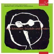 Vom Schreiben, Drucken und Binden - KS:NUE - Kultur- und ...