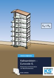 Kalksandstein – Eurocode 6. - KS* Original