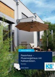 Passivhaus – Plus energiehaus mit Kalksandstein. - KS* Original