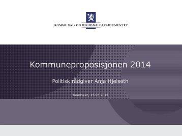 Regjeringens satsinger og forslag til økonomisk opplegg - KS
