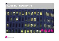 VARSLING I KOMMUNENE - KS