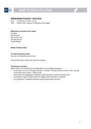 Agenda RÃ¥dmannsutvalget i Vestfold 27.09.2012 kl. 12:30 - KS