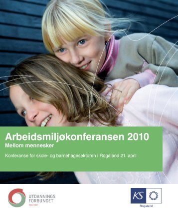 Arbeidsmiljøkonferansen 2010 - KS
