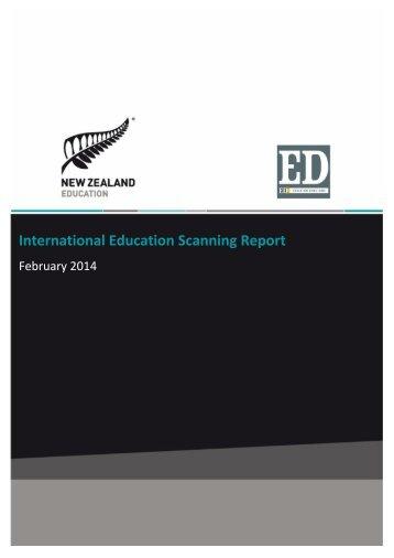 International Education Scanning Report - February 2014